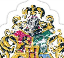 Wizard Hall Monitor (white) Sticker