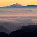 Last Light over Mt. Adams by DawsonImages
