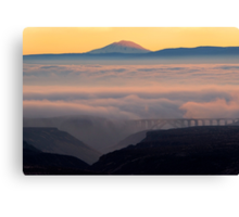 Last Light over Mt. Adams Canvas Print