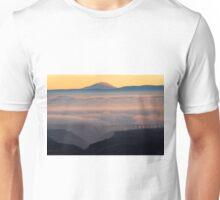 Last Light over Mt. Adams Unisex T-Shirt
