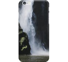 Waterfall at Milford Sound iPhone Case/Skin