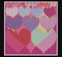 Sweet hearts One Piece - Short Sleeve