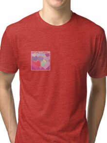 Sweet hearts Tri-blend T-Shirt