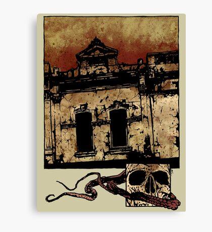 Bleak Canvas Print