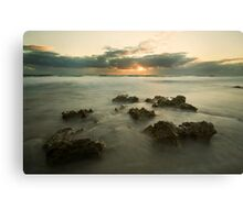 Cottesloe Washout 2 Canvas Print