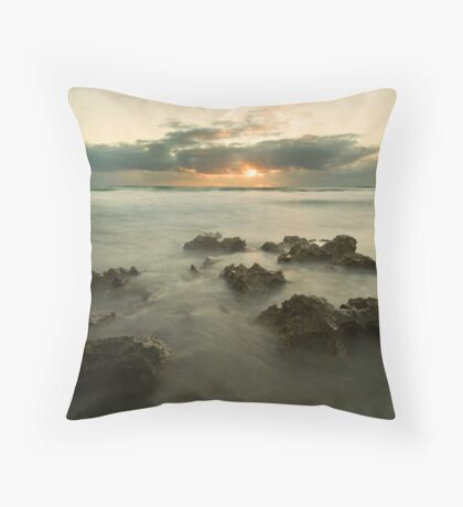 Cottesloe Washout 2 Throw Pillow