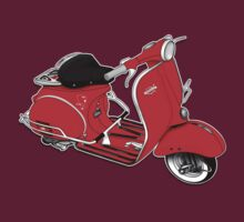 1961 Allstate Scooter Design by Anthony Armstrong