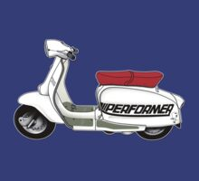 Jet200 Performer Scooter Design by Anthony Armstrong