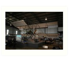 Bristol Boxkite replica @ Oakey Fly-In 2009 Art Print
