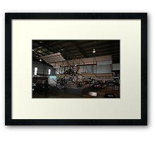 Bristol Boxkite replica @ Oakey Fly-In 2009 Framed Print