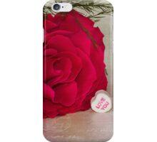 Love YOU Rose  iPhone Case/Skin
