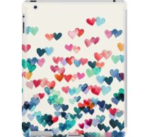 Heart Connections - Watercolor Painting iPad Case/Skin