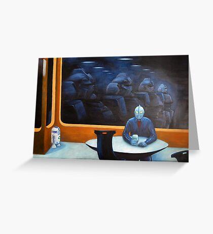 The Autobot-mat Greeting Card