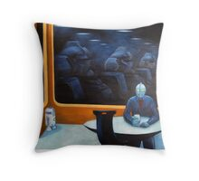 The Autobot-mat Throw Pillow