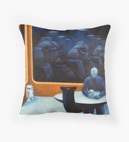 The Autobot-mat Throw Pillow