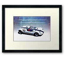 1966 MRC Lotus T23 Framed Print