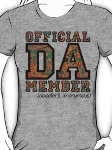Doodle Hearts by an official DA Member. (Doodlers Anonymous) T-Shirt