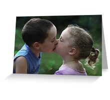 Sweetest Kiss Greeting Card