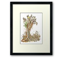 Tree of Life #15 - Brooloo Dreaming Framed Print