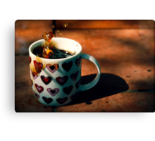 Coffee Love Canvas Print