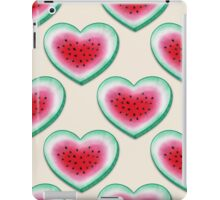Summer Love - Watermelon Heart iPad Case/Skin