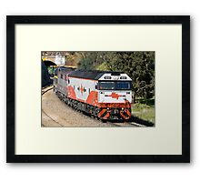 El Zorro Grain Train. Framed Print