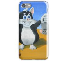 I Caught a Mouse iPhone Case/Skin