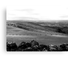 """UK: """"Beauty Off Limits"""", North Yorkshire Canvas Print"""