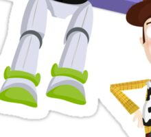 Buzz and Woody Sticker