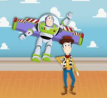 Buzz and Woody by ClauCalderon