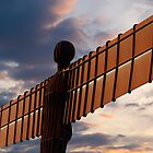 The Angel of the North by cazjeff1958