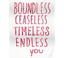 Biundless Poster