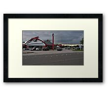 Lancashire - Town  Framed Print
