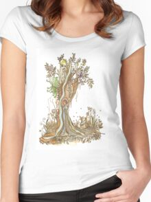 Tree of Life #15 - Brooloo Dreaming Women's Fitted Scoop T-Shirt