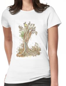 Tree of Life #15 - Brooloo Dreaming Womens Fitted T-Shirt