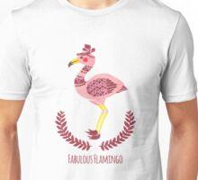 The Fabulous Flamingo Unisex T-Shirt