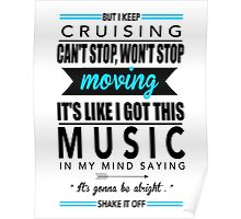 Taylor Swift - Shake It Off Poster