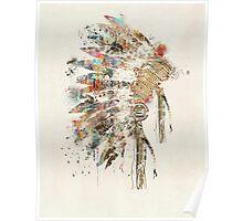 Native Headdress Poster