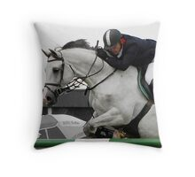 Equestrian Beauty Throw Pillow