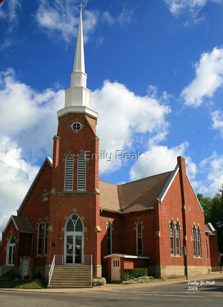 Small Town Church by Emily Peak