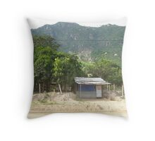 House in the middle of no where Throw Pillow