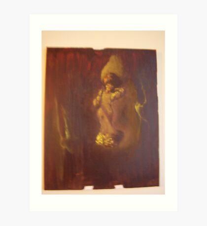 viewer and viewed Art Print