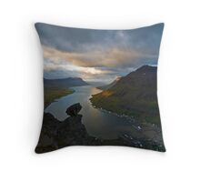 Fjord Throw Pillow