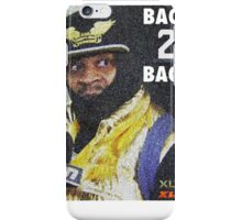 BEAST MODE BACK 2 BACK iPhone Case/Skin