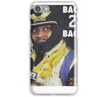 BEAST MODE BACK 2 BACK iPhone Case/Skin
