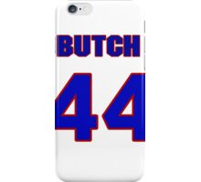 National baseball player Butch Huskey jersey 44 iPhone Case/Skin