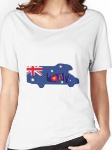 Motorhome Tshirt Australia Women's Relaxed Fit T-Shirt