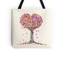 Love in the Fall Tote Bag