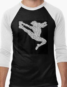 Newsies Jumper - Newspaper Filled Men's Baseball ¾ T-Shirt