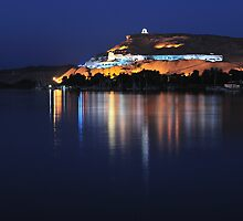 Egypt - Aswan - Tombs of the Nobles by Tony Anastasi